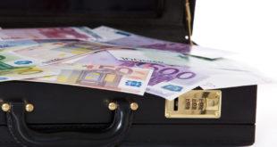 Koffer voller Geld