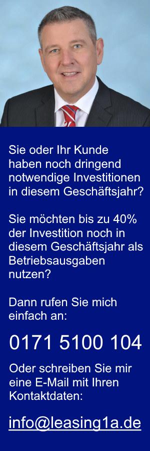 leasing1a Peter Klein Betriebsausgaben 40%